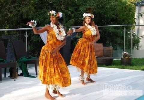 Hawaiianische Tänzerinnen