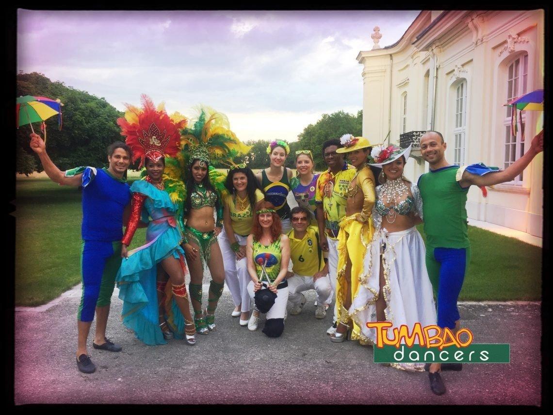 Samba Tanzgruppe