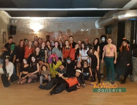 Halloween Party im Tumbao Dance Studio