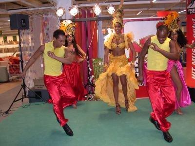 Latino Tänzer