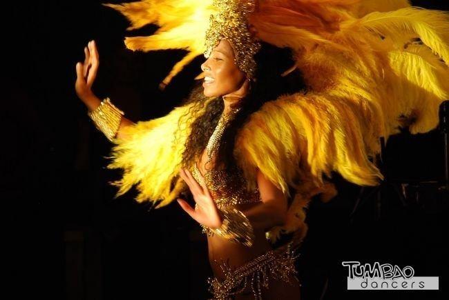 Samba Brasil Tänzerin