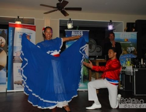Dominikanische Show