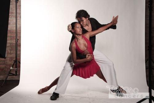 Salsa Tanzpärchen