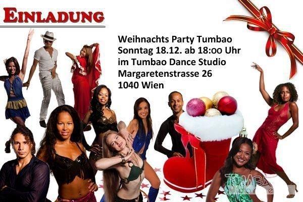 Tanzstudio Weihnachtsfeier