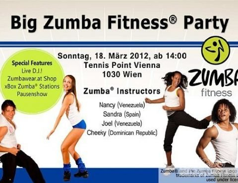 Big Zumba Fitness Party