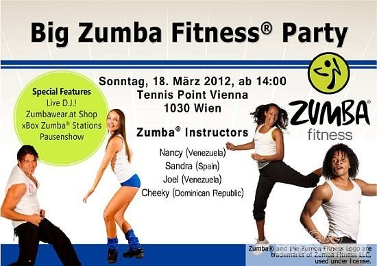 Big Zumba Fitness Party