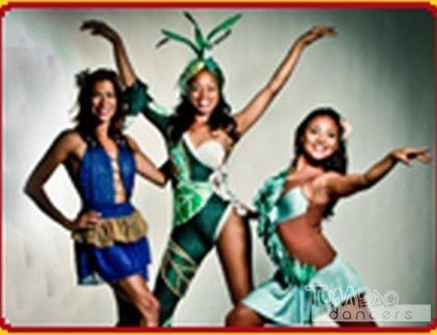 Salsa Tänzerinnen
