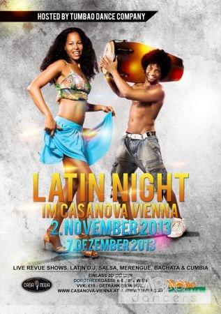 Latin Night im Casanova Vienna