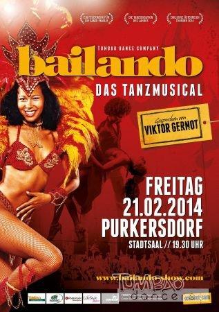 Bailando Plakat Purkersdorf