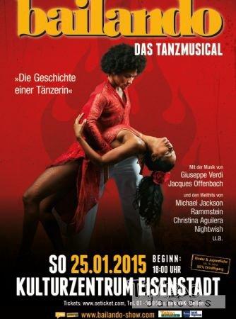 Bailando Plakat Eisenstadt