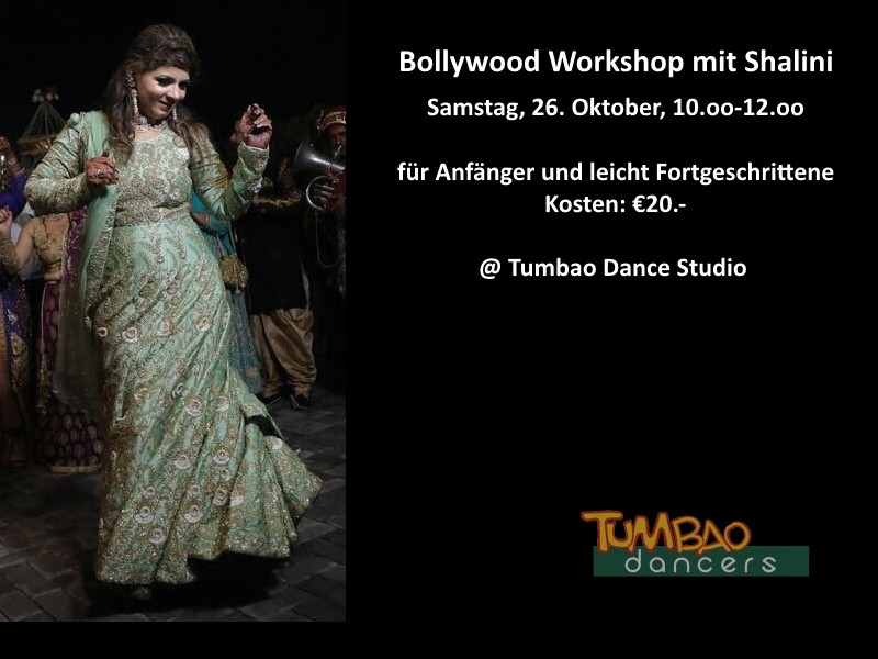 Bollywood Workshop Tumbao Dance Studio